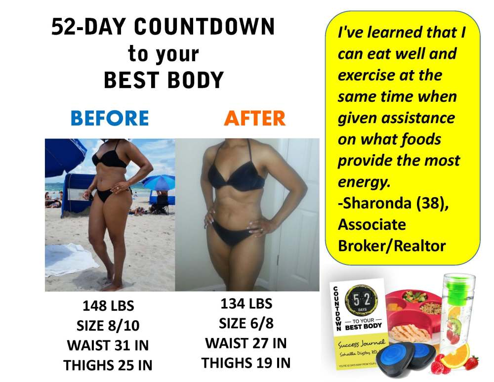 52 Day Countdown to Your BEST Body! (5/6)