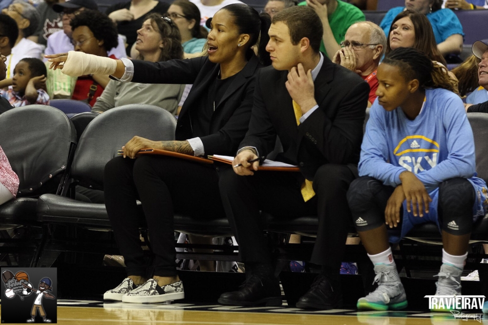WNBA CHICAGO SKY'S TAMERA YOUNG: EMBRACING HER INJURY AND GAINING NEW PERSPECTIVES [PART II] (1/2)